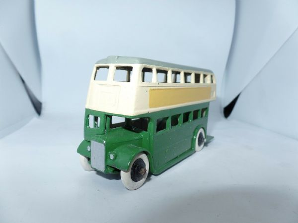 Dinky 29C/290 Bus Green & Cream Leyland Rad with Roofbox  UB